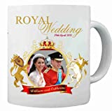 HRH Prince William and Catherine (Kate) Middleton Royal Wedding **Licensed** Commemorative Coffee Mug Cup - 29th April 2011 - #6w Ideal gift as a Collectors Item *Limited Edition*- Affordable Gift for your loved one! (DIS-RC-#6)