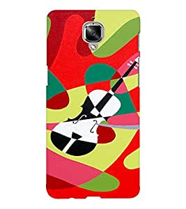 EPICCASE Guitar Mobile Back Case Cover For OnePlus Three (Designer Case)