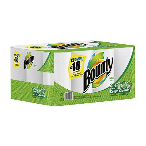 Pampers Bounty Giant White - 12 Count
