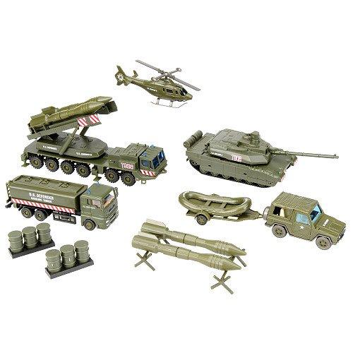 Buy Low Price True Heroes True Heroes Military 43-piece set Playset Figure (B001UDCKK4)
