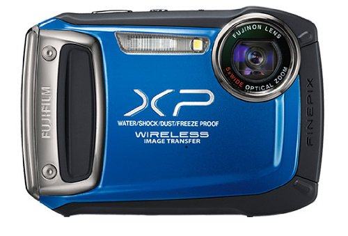 Fujifilm FinePix XP170 Digital Camera - Blue (14MP CMOS Black Friday & Cyber Monday 2014