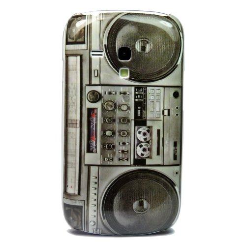 Atq Old Player Design Hard Skin Case Cover For Samsung Galaxy S3 Iii Mini I8190