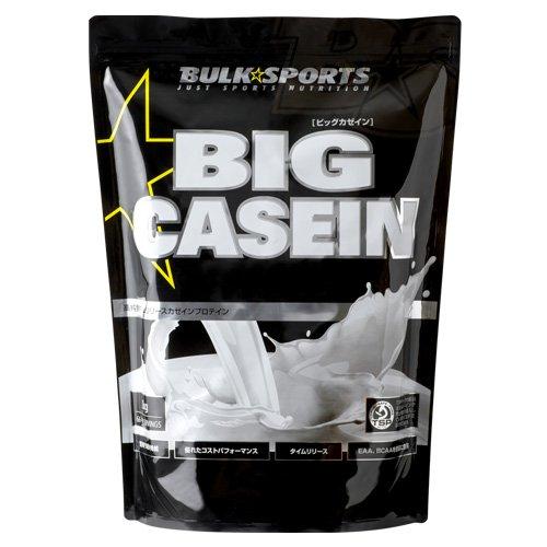 バルクスポーツ ビッグカゼイン ナチュラル V2 (ナチュラル, 2kg)