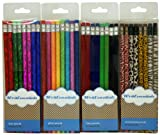 Design International Group Fashion Pencils, Assorted Styles, 32 Pencils (DIG12215)