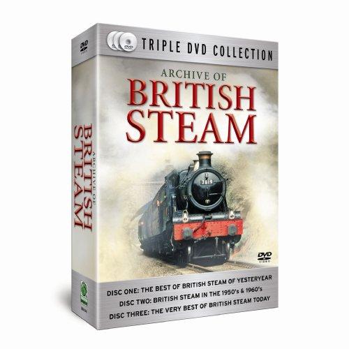 ARCHIVE OF BRITISH STEAM [IMPORT ANGLAIS] (IMPORT)  (COFFRET DE 3 DVD)
