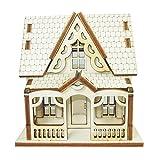 Doll House DIY Plywood Kit - Attic House 1 ★Made in Korea