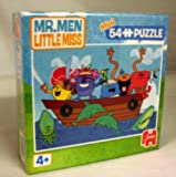 Mr Men Little Miss 2 x 54 Mini Jigsaw Puzzles