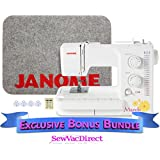 Janome Magnolia 7318 Sewing Machine with Exclusive Bonus Bundle