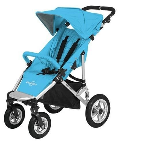 Easywalker-Quattro-Base-Stroller-Aqua