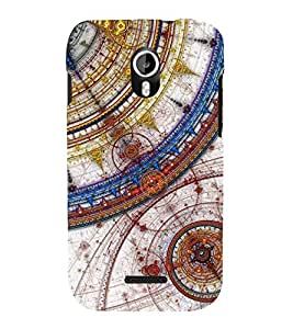 Protractor Design 3D Hard Polycarbonate Designer Back Case Cover for Micromax Canvas Magnus A117
