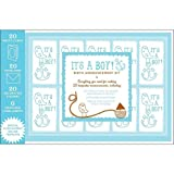 It's a Boy!: Birth Announcement Kit (0811867706) by Chronicle Books Staff