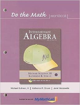 Algebra intermediate sullivan pdf