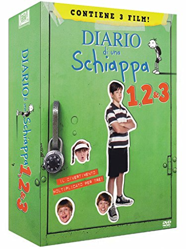 Diario di una schiappa 1, 2 & 3 (+gadget) [3 DVDs] [IT Import]