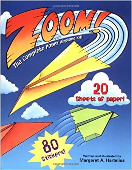 Zoom! The Complete Paper Airplane Kit!