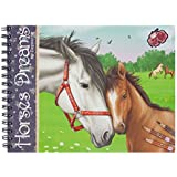 Depesche 7820 - Cuaderno para colorear (7820) - Horses dreams cuaderno colorear