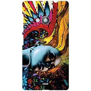 Back Cover For Nokia Lumia 535 (Printed Designer)