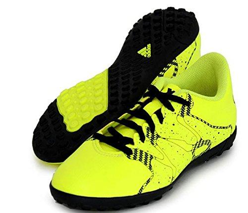 Adidas X15.4 TF Junior Fussballschuhe solar yellow-solar yellow-core black - 35
