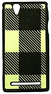 Zeztee ZT8700 Multicolor print Mobile Back Cover For Sony Xperia T2