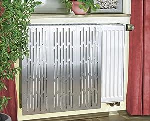 Wenko cache radiateur en acier inoxydable cuisine maison - Radiateur en anglais ...