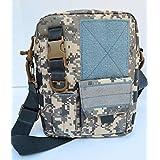 Acid Tactical MOLLE First Aid Bag Pouch Trauma EMT Medic Utility - Digital ACU Camo (Color: Black)