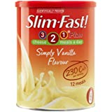 Slim-Fast! Simply Vanilla Flavour 438g