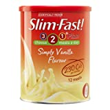 Slim Fast Powder Simply Vanilla - 438 g