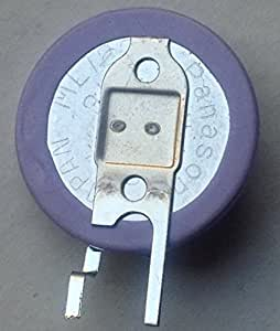 Sanyo ML1220-VM1 Rechargeable Coin Cell w/ 2 Pin Vertical Mount