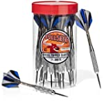 Top-Rated Steel Tip Darts in a jar wi...