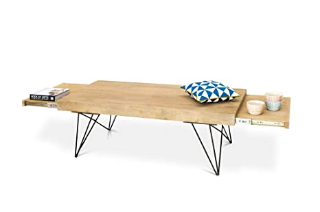 Table basse scandinave ou banquette à rallonges Zurich