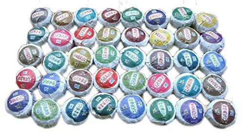 6Oz / 40 Kinds Flavour Puer Tea,Pu'Er,Slimming Tea,Puerh,
