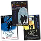 Christopher Fowler Christopher Fowler Bryant and May Mystery 3 Books Collection Pack Set RRP: £25.97 (Ten-Second Staircase, White Corridor, The Victoria Vanishes)