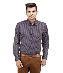 LEAF Men's Stripes Casual Shirts