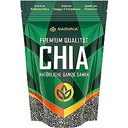Naduria Premium Chia Samen - 1er Pack - 500g (0,5kg)