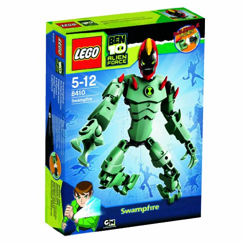Lego Ben 10 Alien Force 8410 Swampfire Picture