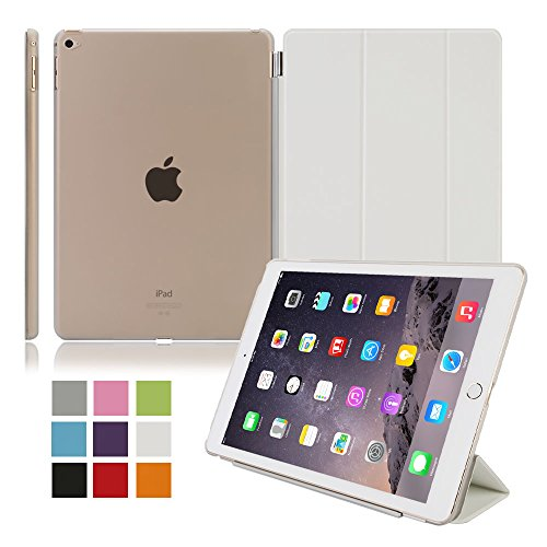Lowest Prices! Besdata Ultra Thin Magnetic Smart Cover [Wake/Sleep Function] & Clear Back Case f...