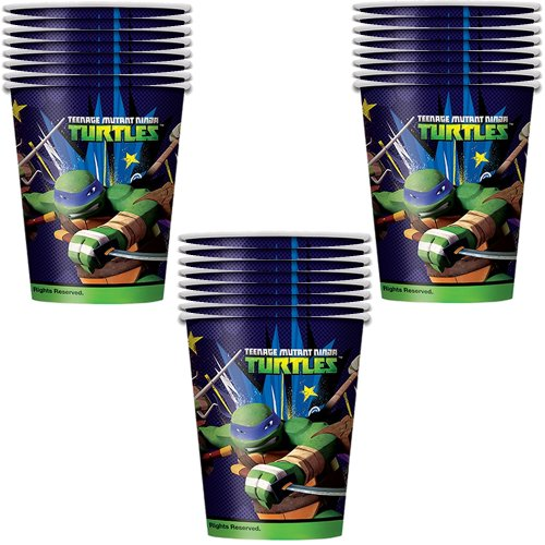 Teenage Mutant Ninja Turtles Party Paper Cups - 24 Pieces - 1