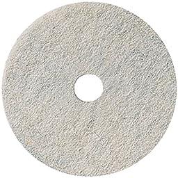 3M 17 Inch Natural Blend White Burnish Pads 3300