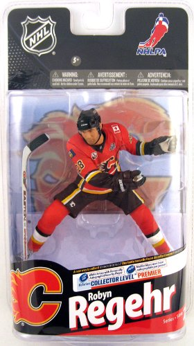 NHL Series 24 2010 Robyn Regehr Calgary Flames Action Figure - 1