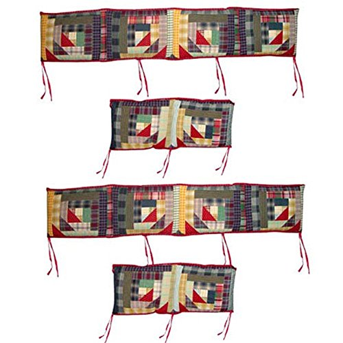 Patch Magic Wild Goose Log Cabin Bumper Cover - 1