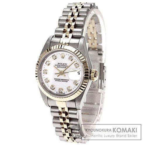 ROLEX(ロレックス) デイトジャスト 腕時計 K18イエローゴールド/SS レディース (中古)