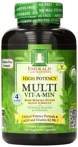 Emerald Laboratories High Potency Multi Vitamin, 120 Count