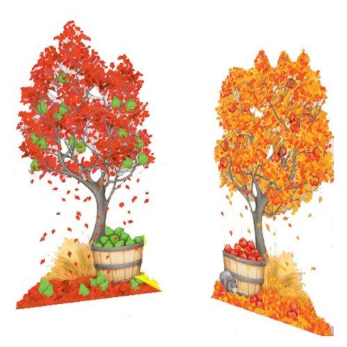 Autumn Trees Scene Setter