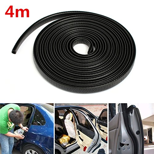 Black Trim Hollow Rubber Seal Strip Scratch Protector Guard For Car Boat Van (Weatherstrip Protectant compare prices)
