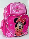 New Minnie Mouse Pink Backpack Matching Lunch Box Free Pack of Pencils