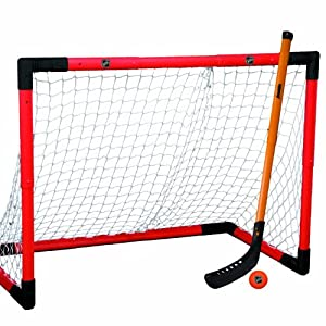 Franklin Sports NHL Hockey Adjustable Hockey Goal Set