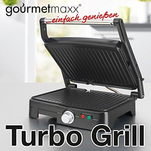 tv unser original 07301 gourmetmaxx turbo grill mit. Black Bedroom Furniture Sets. Home Design Ideas