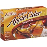 Alpine Spiced Apple Cider Original Instant Drink Mix, 10-Count .74-Ounce Pouches (Pack of 12)