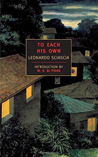 To Each His Own (New York Review Books Classics) (New York Review compare prices)