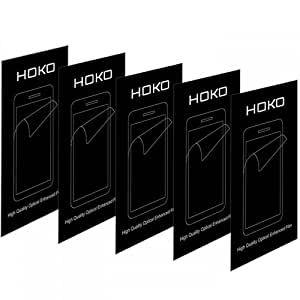 Lenovo S930 Screen protector, Scratch Guard, HOKO® (Pack of 5) Crystal Clear Screen Protector Scratch Guard For Lenovo S930
