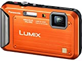 51zaGO43IpL. SL160  Panasonic Lumix TS20 MP TOUGH Waterproof Digital Camera with 4x Optical Zoom (Orange) 16.1
